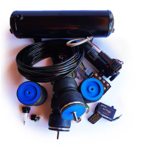 Castor Bluetooth Kit – 2.5 Gallon Tank + Double Bellow Airbags